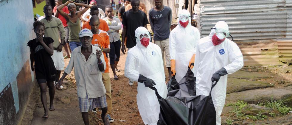 Ebola: Das Virus könnte noch Zigtausende infizieren
