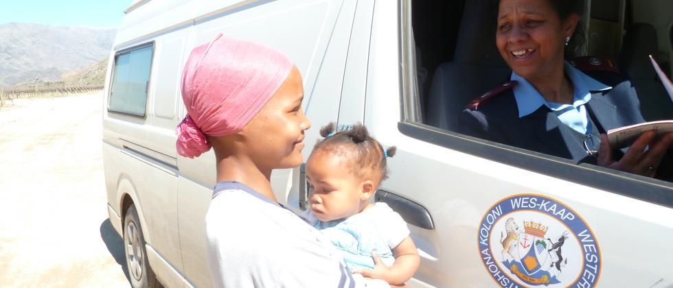 Aids Südafrika Abrahams Krankenschwester Kapstadt