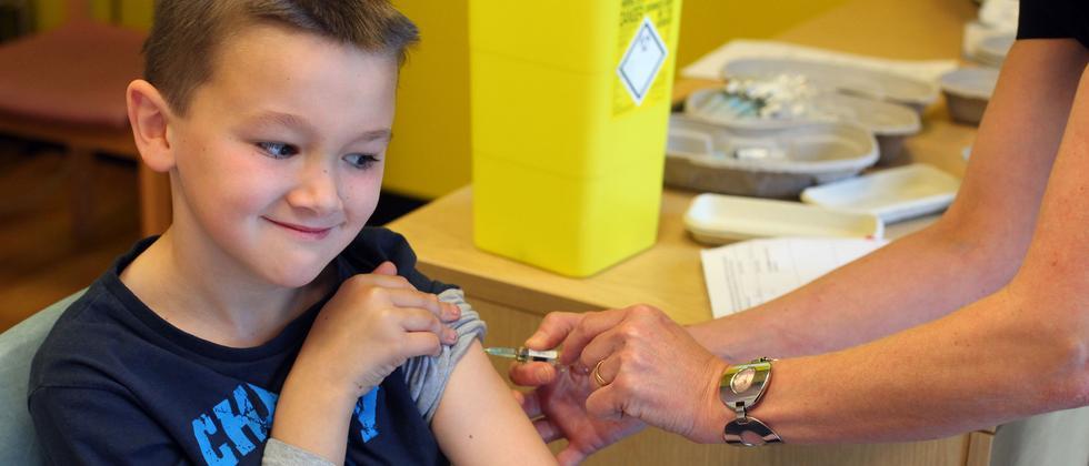 Masern Impfstoff Impfung Schutz Gesundheit Großbritannien