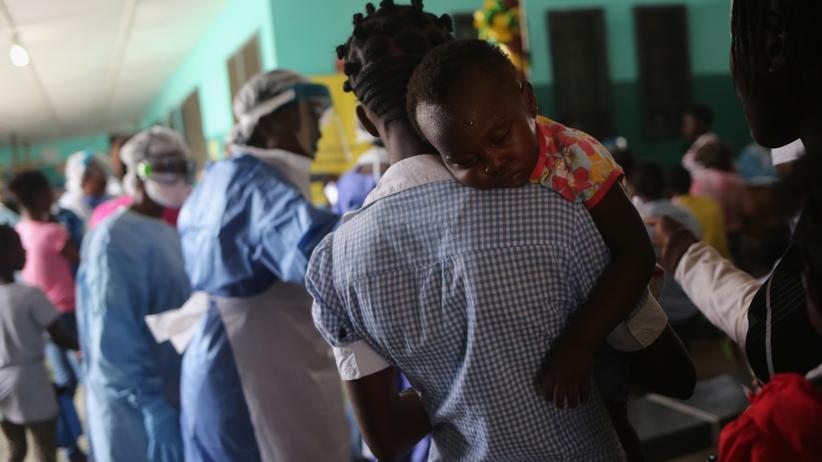 Ebola Klinik Monrovia