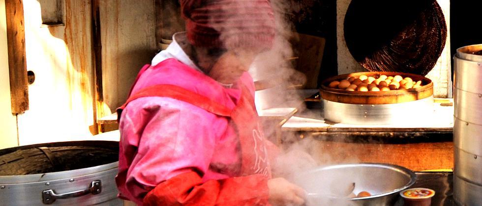 Feinstaub Öfen Luftverschmutzung China Asien