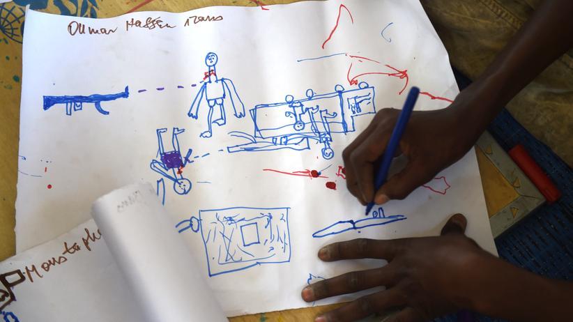 Flüchtlinge Kind Trauma Psychotherapie