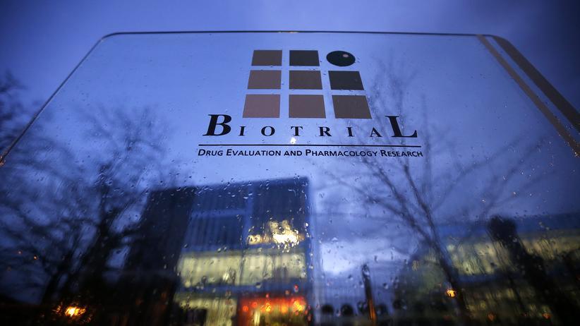 Das Forschungsinstitut Biotrial in Rennes. Hier nahmen Probanden die Testarznei ein.