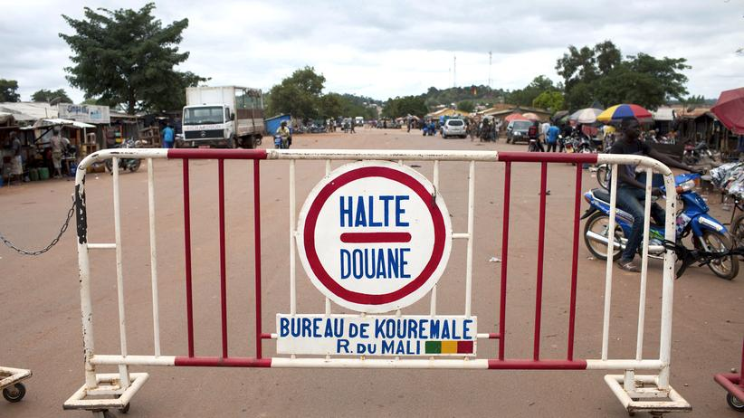 Liberia Guinea Grenze