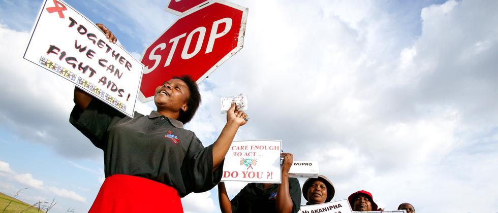 HIV Aids Weltaidskonferenz Südafrika