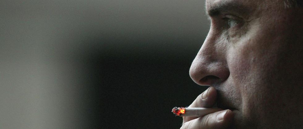 krebs, raucher, nachweis