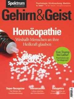Gehirn&Geist Ausgabe 10/2017
