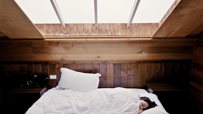 Grippe: Schlafen hilft!