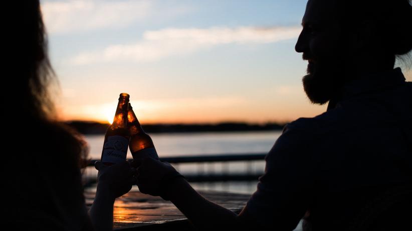 Alkohol: Feierabendbierchen? Eins reicht doch auch.