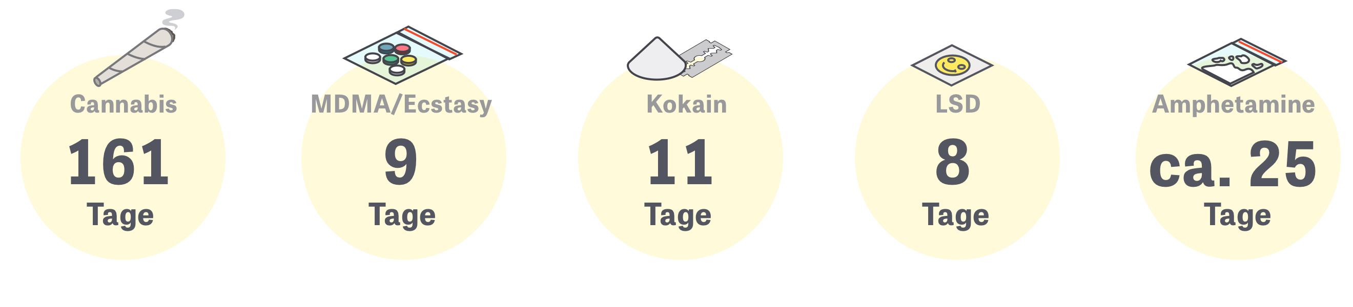 Global Drug Survey: Wie oft haben Sie innerhalb von 12 Monaten konsumiert?