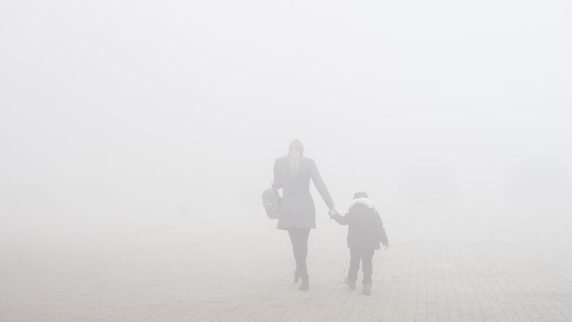 Europäische Umweltagentur: Smogentwicklung in der Stadt Obiliq im Kosovo