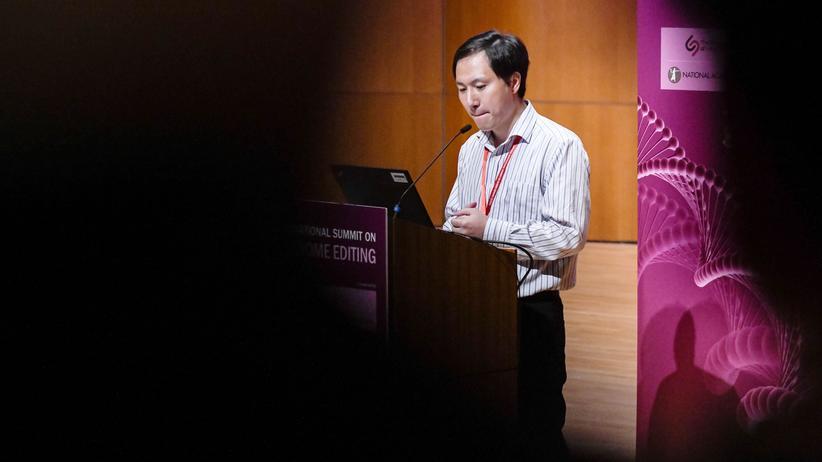 Crispr: He Jiankui ist stolz auf Genbabys