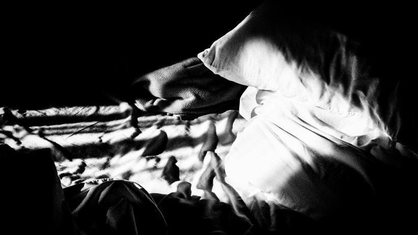 Schlafentzug: Das Bett blieb leer.