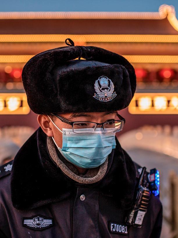 Coronavirus: China trägt Mundschutz