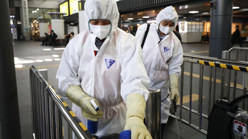 Coronavirus: China baut in Wuhan Notfallklinik mit 1.000 Betten