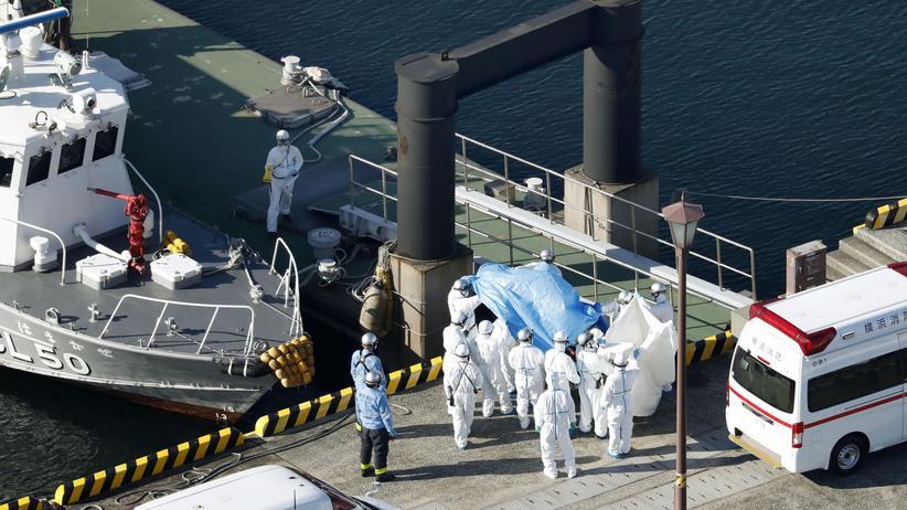 Lungenkrankheit: Zehn Coronavirusfälle auf Kreuzfahrtschiff in Japan
