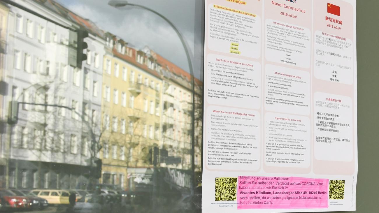 Covid-19: Erste Coronavirus-Fälle in Baden-Württemberg und NRW