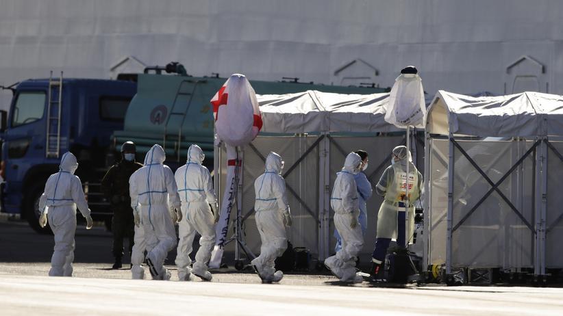 Coronavirus: 39 weitere Infizierte auf Quarantäneschiff in Japan