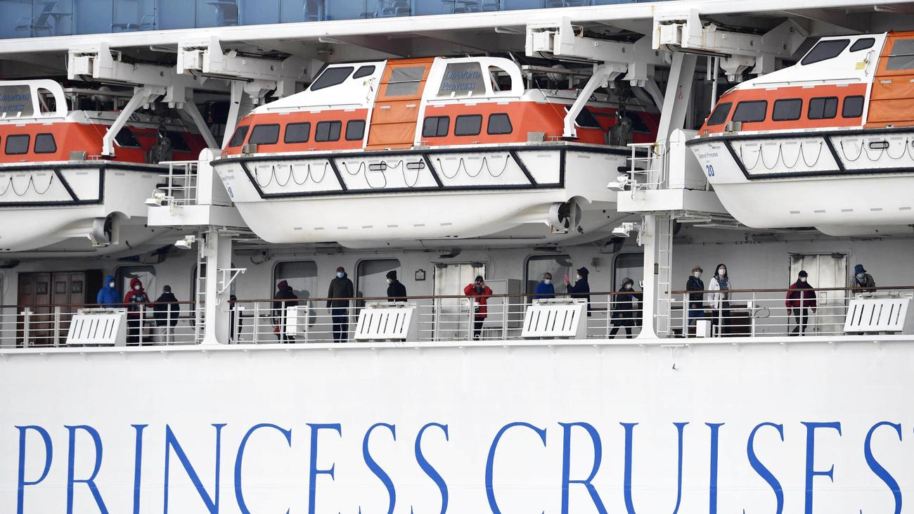 "Coronavirus: 70 Neuinfektionen auf Kreuzfahrtschiff ""Diamond Princess"""