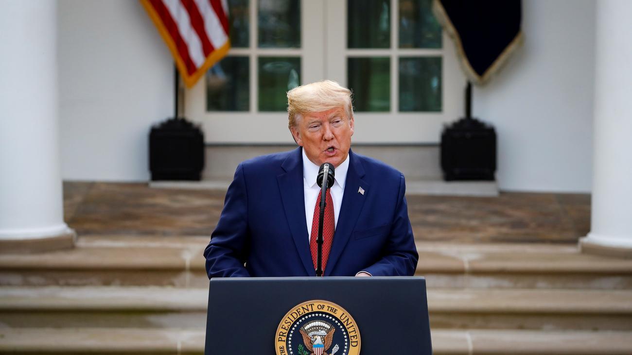 USA: Donald Trump spricht von über 100.000 Toten