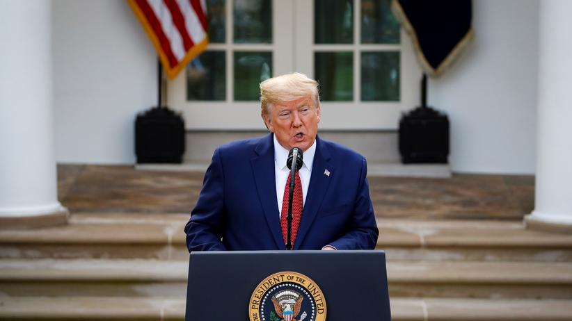 USA: Donald Trump befürchtet mehr als 100.000 Tote