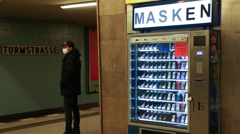 Maskenpflicht Bank
