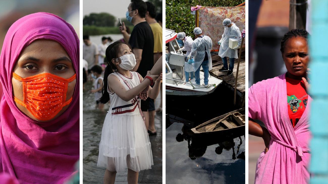 So geht die Pandemie um die Welt