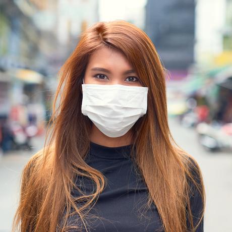 Mundschutz und Mimik: Entschuldigung, lächeln Sie?