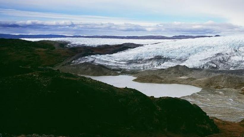 Grönland Eis Klima Klimawandel Schmelze