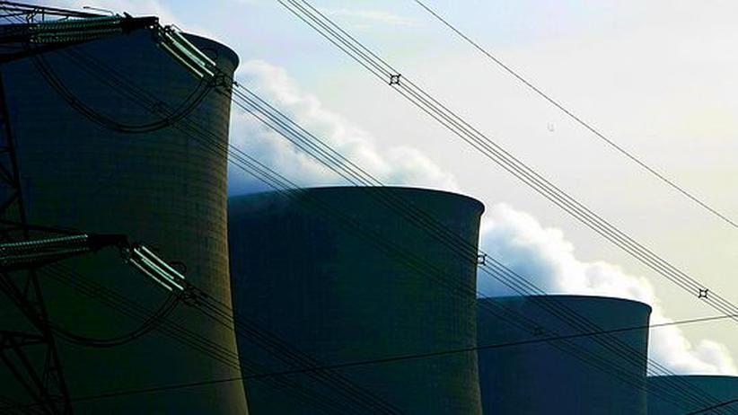 Energie Kraftwerk Strom fossile Brennstoffe CO2 Emission
