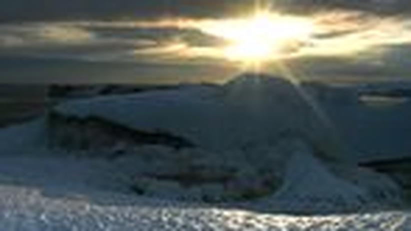 Klimaforschung: Forscher rekonstruieren Eisschmelze auf Grönland
