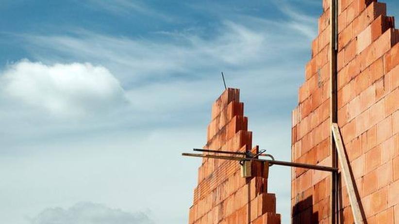 Hausbau wärmepuffer energie sparen