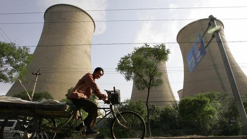 Klimaschutz: China will Anstieg von Treibhausgasen bremsen