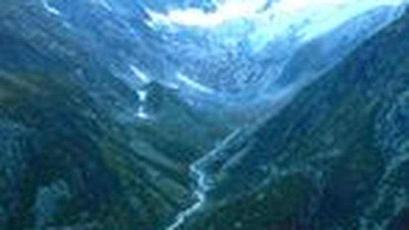 Klimawandel: Den Gletschern beim Sterben zuschauen