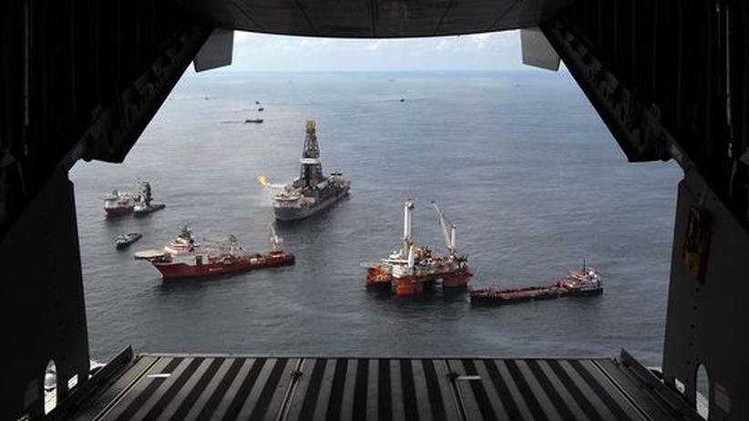 Golf von Mexiko: BP kann Ölfluss doch nicht stoppen