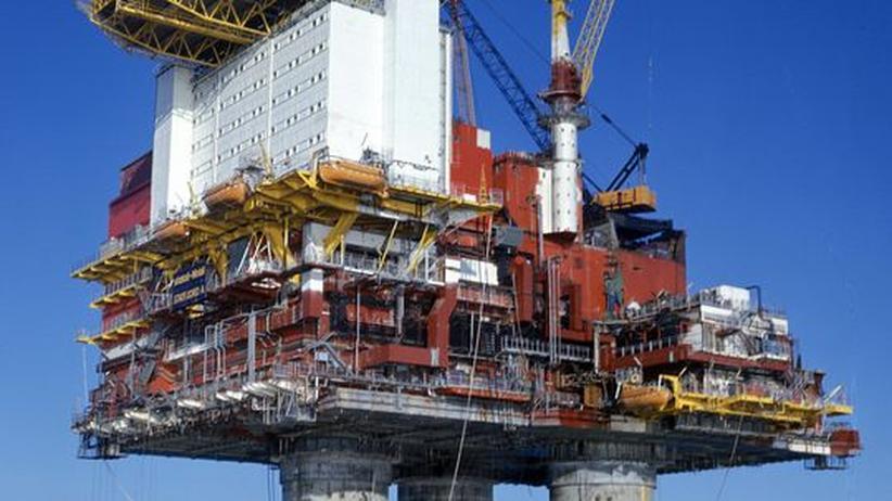 Statfjord Öl Plattform