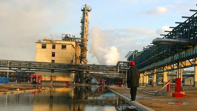 Treibhausgase Emissionen China Klimawandel