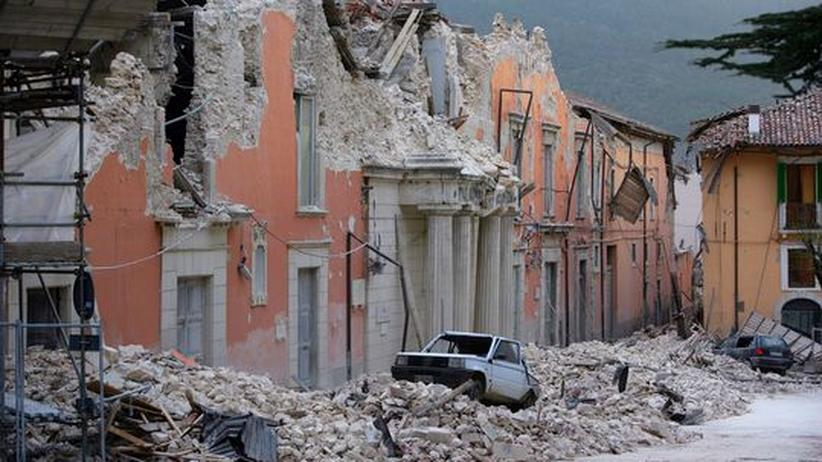 """Erdbeben in Italien: """"Trinken Sie lieber einen!"""""""