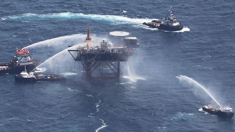 Golf von Mexiko: Erneut Ölplattform vor Louisiana explodiert