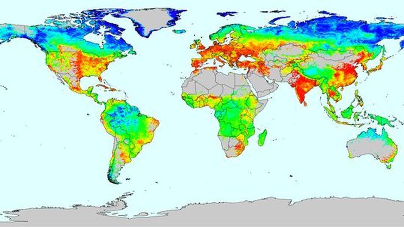 In welchen Regionen wird Trink- und Nutzwasser zu intensiv verbraucht?