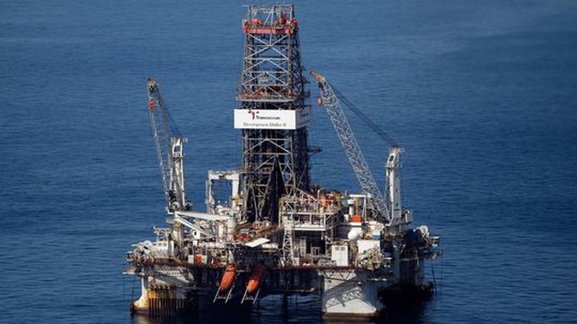 Die Ölplattform Deepwater Horizon