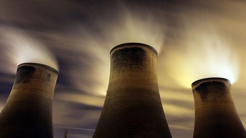 Kohlekraftwerk im britischen Warrington