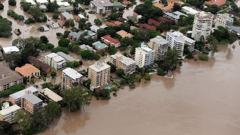 Flutkatastrophe: Wie Australien unter der Erderwärmung leidet