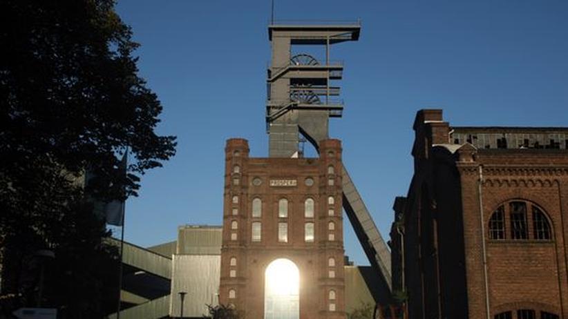 Ein inaktiver Teil des Kohlebergwerks  Prosper Haniel in Bottrop