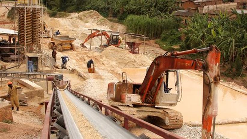 Coltan Mine Afrika Rohstoffe