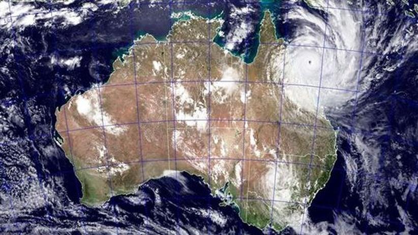 """Wirbelsturm """"Yasi"""": Australien im Visier der Zyklone"""