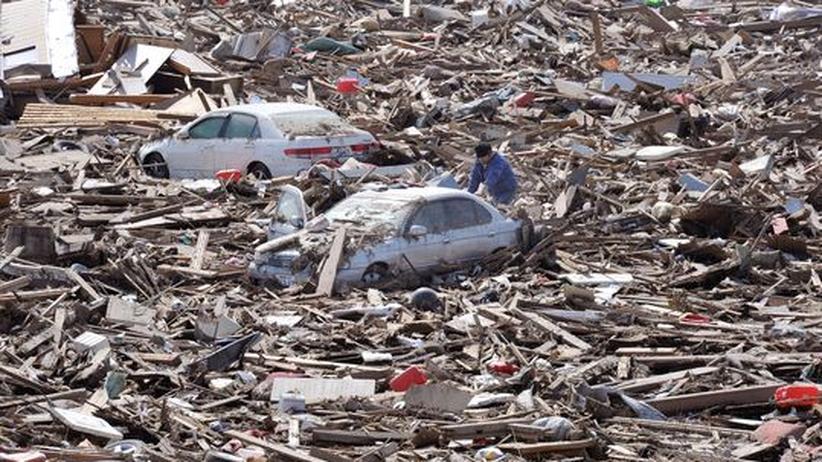Miyagi Sendai Japan Erdbeben Tsunami Flut Naturkatastrophe