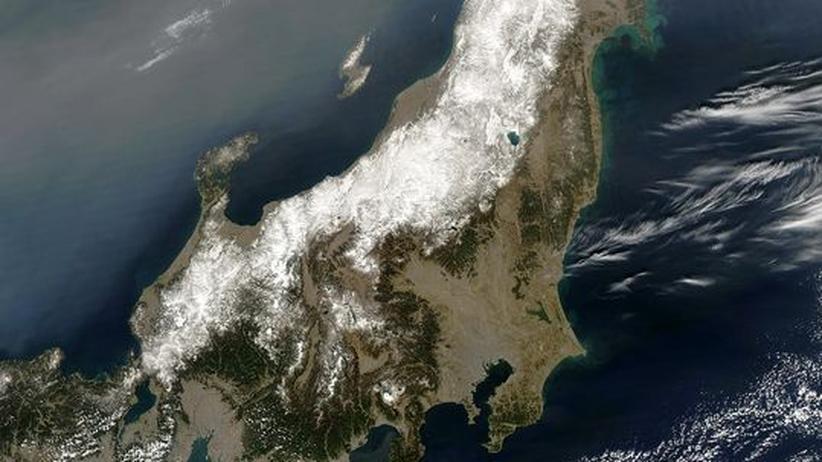 """Japan: Die Geografie eines """"Megabebens"""""""