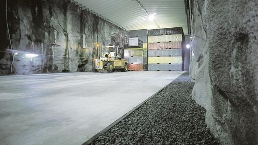 Schwedisches Atommüll-Endlager : Ein Fels für die radioaktive Ewigkeit