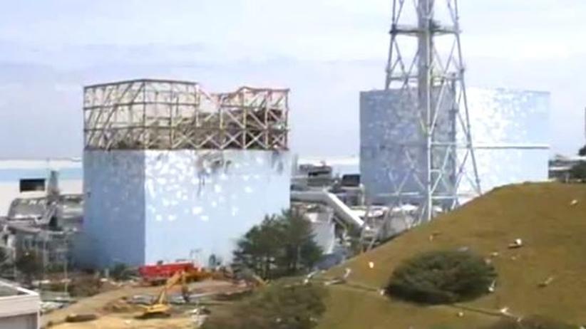 Atom-Unglück in Fukushima: Die Explosionsgefahr am Reaktor 1 ist nicht gestiegen